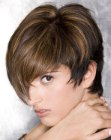 corte de cabelo curto – short hair longer on top