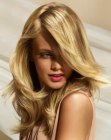 corte para cabelos longos – long blonde hair with highlights